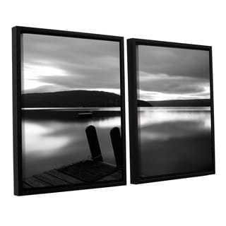 ArtWall 'Steve Ainsworth's Still Waters' 2-piece Floater Framed Canvas Set