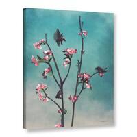 ArtWall 'Cynthia Decker'Hummingbears' Gallery-wrapped Canvas