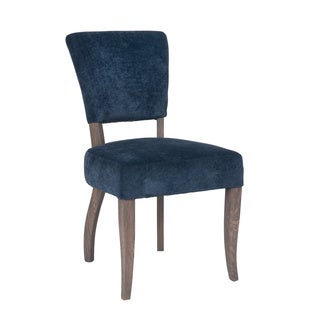 Crafted Home's Juliette Blue Upholstered Chair