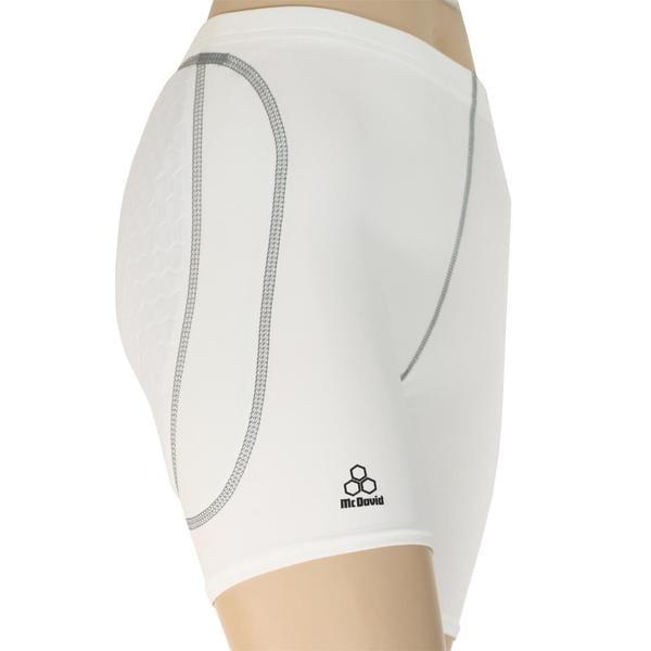 McDavid Classic 7260 Women'S Hexpad Combo Sliding Short White Large