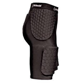 McDavid Classic 757DD Dual Density Hexpad Thudd Short Black Medium