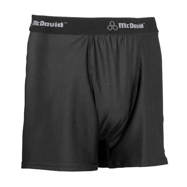 McDavid Classic 9252 Youth Sport Boxer No Cup Pocket Black Large