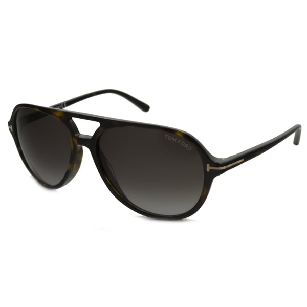 d8dc6794aa8 Shop Tom Ford Men s TF0331 Jared Aviator Sunglasses - Free Shipping Today -  Overstock - 11375815