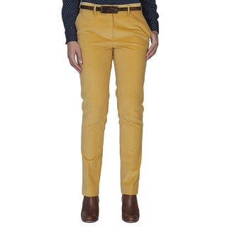 Robert Talbott Yellow Corduroy Pants