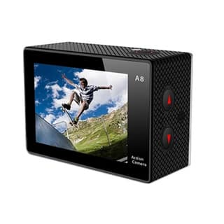 Axess 720p HD Action Camera with Waterproof Housing (Black)