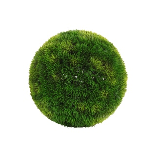 Polyurethane Round Green Large Boxwood Ball
