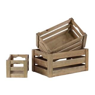 antique style wooden crates 16914056. Black Bedroom Furniture Sets. Home Design Ideas