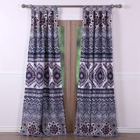Greenland Home Fashions  Medina Saffron 84-inch Curtain Panel Pair