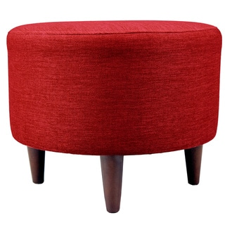 MJL Furniture Sophia Key Largo Round Upholstered Ottoman
