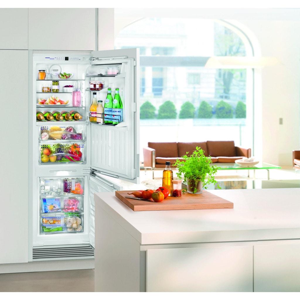 Liebherr 24 inch fully Integrated Refrigerator/Freezer wi...