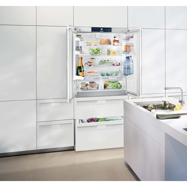 Medium image of liebherr hcb 2062 premium plus nofrost 36 inch fully integrated refrigerator  u0026amp  freezer