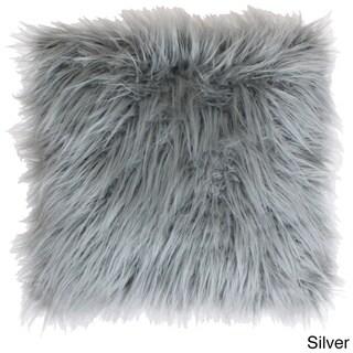 Thro by Marlo Lorenz Keller Faux Mongolian 26-inch Throw Pillow