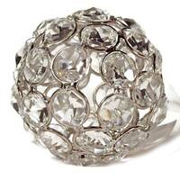 Heim Concept Sparkle Ornament Crystal Beaded Ball