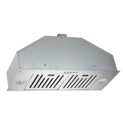Kobe INX2730SQB-700-2 Brillia 750 CFM Stainless Steel 30-inch Built-In Range Hood