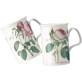Roy Kirkham Lancaster Mug - Redoute Rose Set of 6