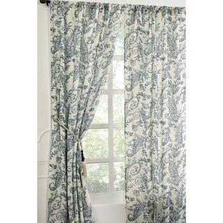 Kiera Linen/ Cotton 96-inch Curtain Panel