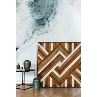 Ren Wil Pop Parquet Framed Wall Decor