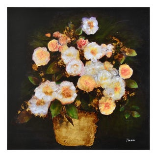 Ren Wil Fortune Flower Unframed Wall Decor