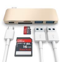 Satechi Type-C Pass Through USB Hub with USB-C Charging Port