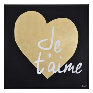 Ren Wil Amour Framed Canvas