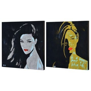 Ren Wil The Sirens Unframed Canvas