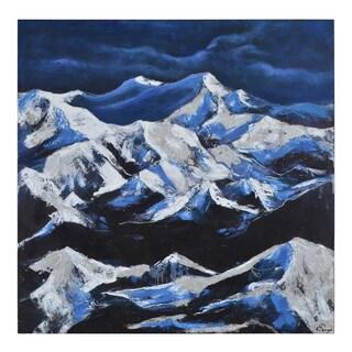 Ren Wil Winter Cliffs Unframed Canvas