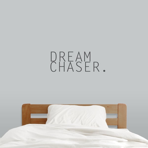 Shop Dream Chaser 24 X 9 Inch Wall Decal On Sale Free Shipping