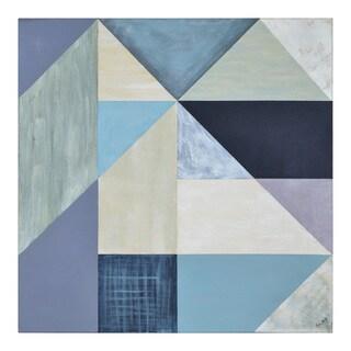 Ren Wil Blue Peaks Unframed Canvas