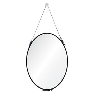 Ren Wil Stallion Framed Round Mirror