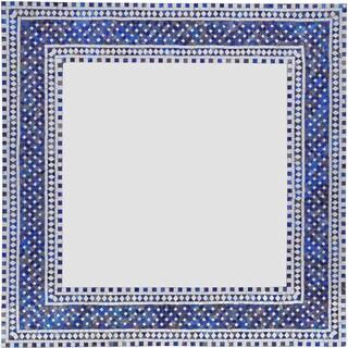 Ren Wil Kilim Framed Square Mirror