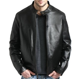 Tanners Avenue Men's Leather Moto Jacket