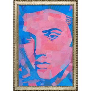 Alexey Rubanov 'Elvis' Framed Fine Art Print