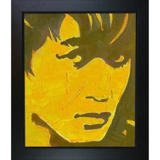 Alexey Rubanov 'Viktor' Framed Fine Art Print