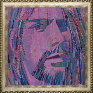 Alexey Rubanov 'Kurt' Framed Fine Art Print