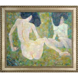 Alexey Rubanov 'Mirror' Framed Fine Art Print