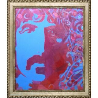 Alexey Rubanov 'Frank' Framed Fine Art Print