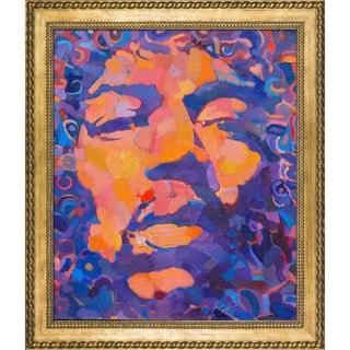 Alexey Rubanov 'Jimmi' Framed Fine Art Print