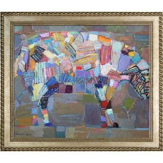 Alexey Rubanov 'Sheep' Framed Fine Art Print