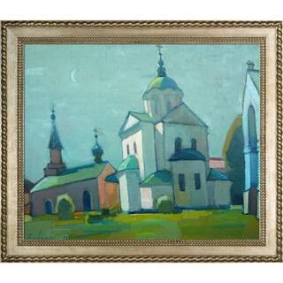 Alexey Rubanov 'Church' Framed Fine Art Print