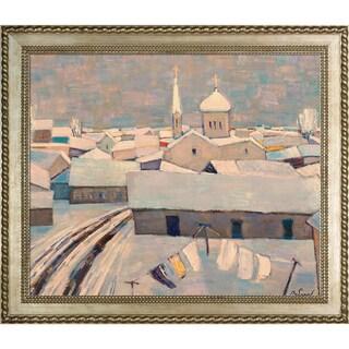 Alexey Rubanov 'Peal' Framed Fine Art Print