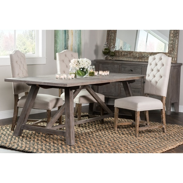 Aubrey Rustic Grey 86-inch Dining Table By Kosas Home