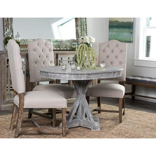 Rockie Wood 47-inch Grey Oval Dining Table by Kosas Home https://ak1.ostkcdn.com/images/products/11382518/P18350939.jpg?impolicy=medium