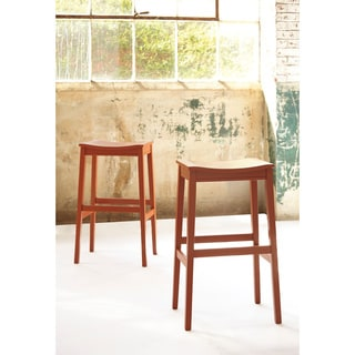 Signature Design by Ashley Bantilly 30-inch Backless Barstool (Set of 2)