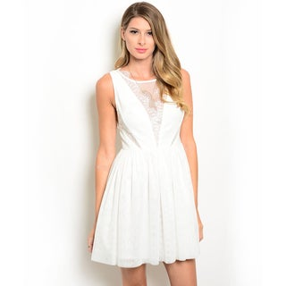 Shop the Trends Women's Sleeveless Fit And Flare Dress
