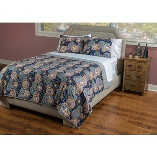 Bohemian Indigo Quilt by Rizzy Home (3 options available)