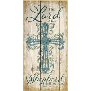 Dexsa The Lord Is My Shepherd Wood Plaque