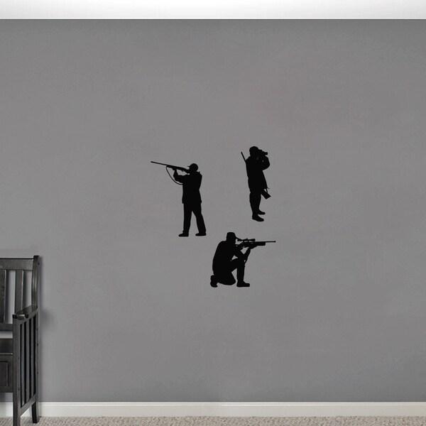 Hunter Small Wall Decal Set