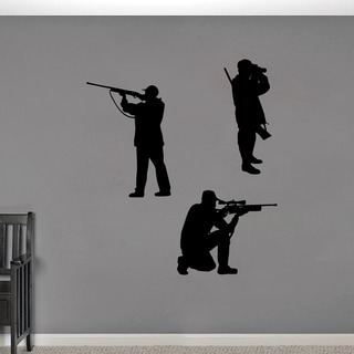 Hunter Large Wall Decal Set