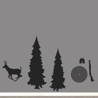 Hunting Pack Large Wall Decal