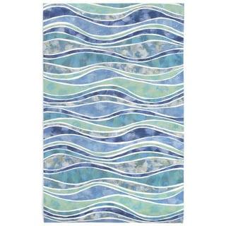 Liora Manne Rolling Wave Outdoor Rug (8' x 10')
